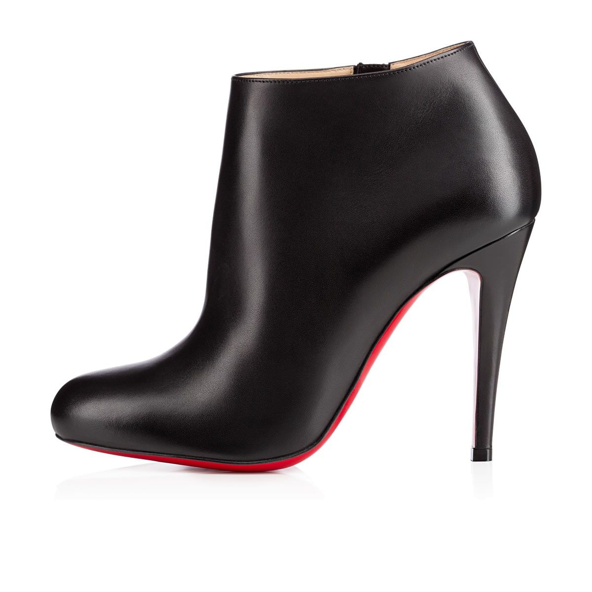 christian louboutin belle 80mm ankle boots black