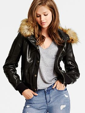 I want a leather jacket just like this preferably cheaper than $300 -_-