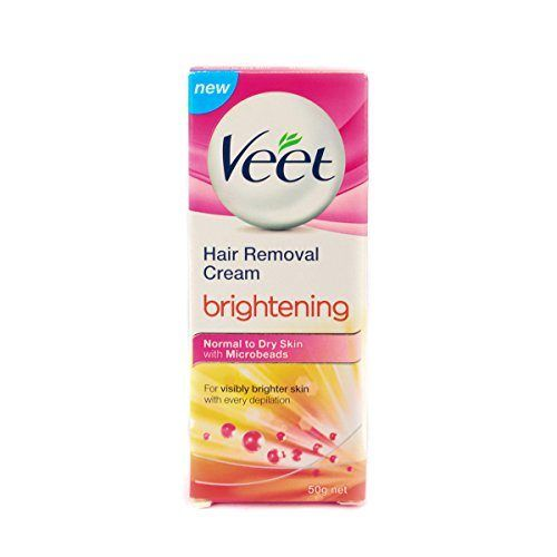 Veet Brightening Hair Removal Cream 50 G Normal To Dry Skin At