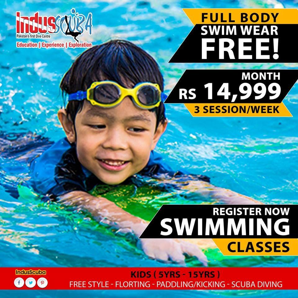 Kids swimming classes in karachi children from 5 years to - Metropolitan swimming pool karachi ...