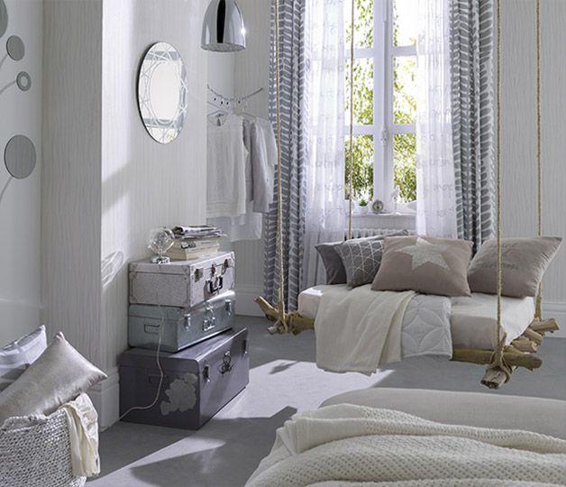 Inspirations décoration Castorama le gris dans la chambre | Déco ...