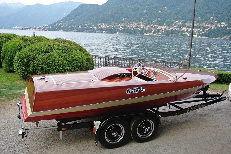 pinterest com/fra411 #classic #wooden #boat - Rambeck - BMW 507 V8