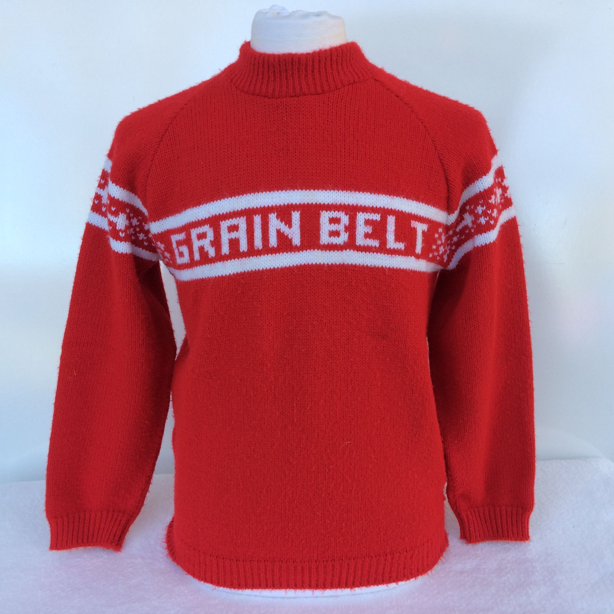 82a3db0e6452d2 Vintage Grain Belt Beer Sweater from Bar Closet. Great Ugly Christmas  Sweater that no one will have!