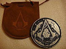 Assassins Creed III 3 Join Or Die Medallion Coin