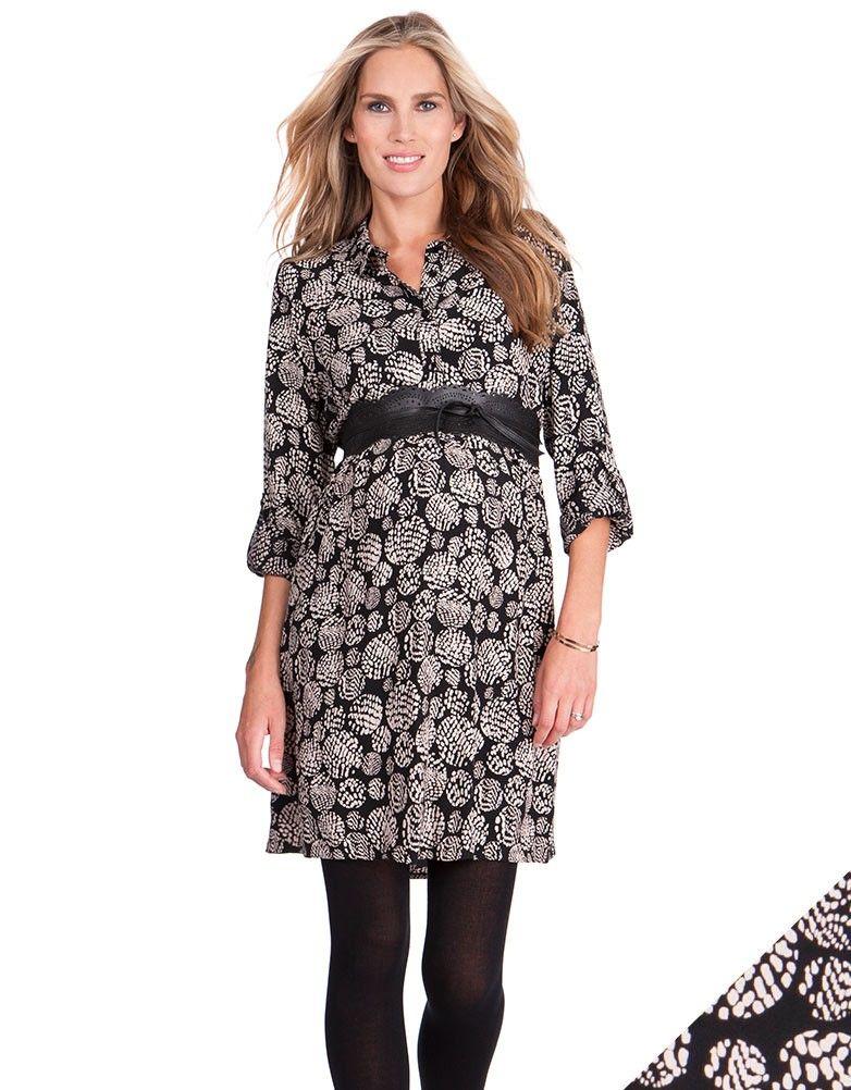 272db15dbe6bcd Printed Woven Maternity Shirt Dress | Baby | Pinterest | Pregnancy ...