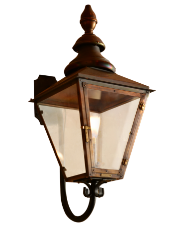 London Street Gooseneck Copper Lights Copper Lighting Traditional Lighting Gas And Electric
