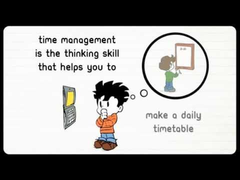 Organization: teach high schoolers how to manage time