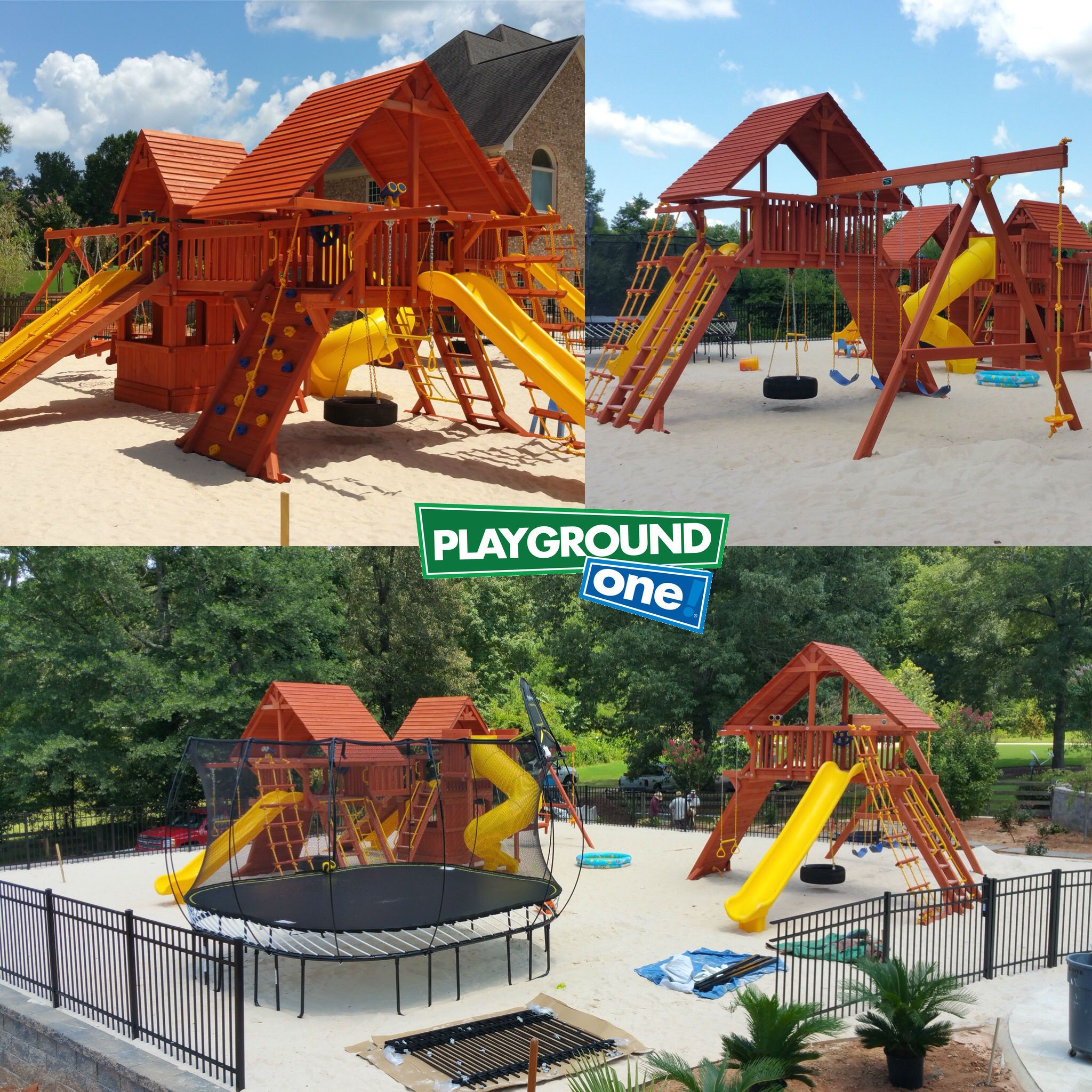 Turbo Deluxe Dual Maxed Out And Extreme Playcenter Business For Kids Wood Roof Kids Imagination