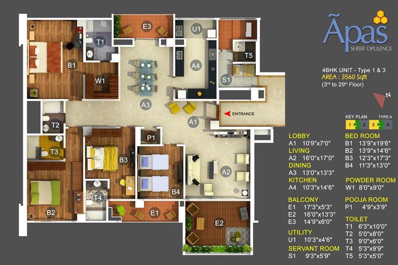 Home Design 4 Bhk Part - 18: ICYMI: 4 Bedroom House Design Modern | Hiqra | Pinterest | House