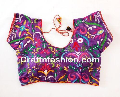 Details about Indian Gujarati rabari mirror work ...