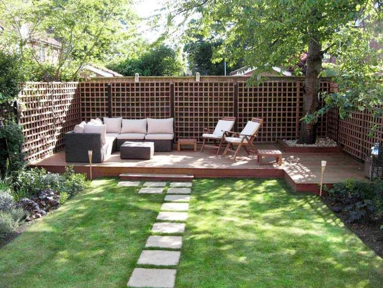 Comment am nager son jardin pour un ext rieur moderne for Terrasse en vue