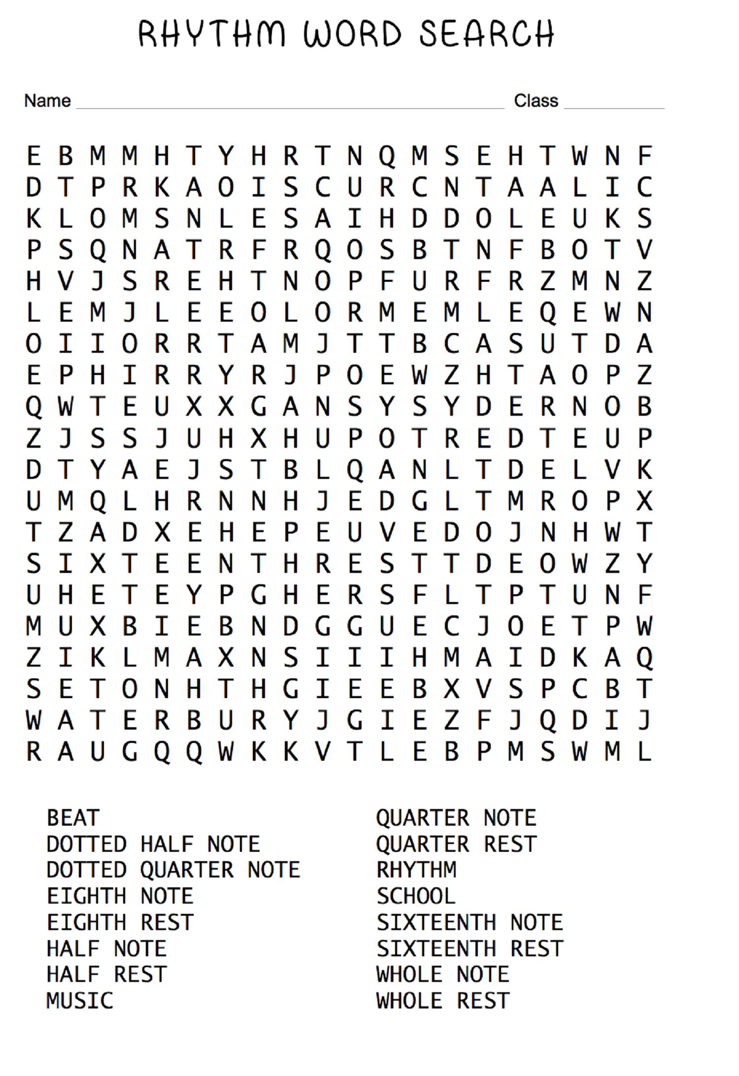 Fall Word Search For Fun English Words Game