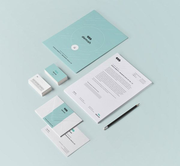 25 Free Psd Templates To Mockup Your Print Designs Stationery Mockup Stationery Branding Graphic Design Mockup