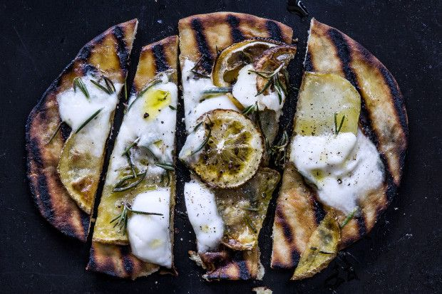 Despite reducing carbs I may have to try this Indian spa styled nosh via @bonappetit This Grilled Naan Recipe Might Just Be Better Than Pizza photo