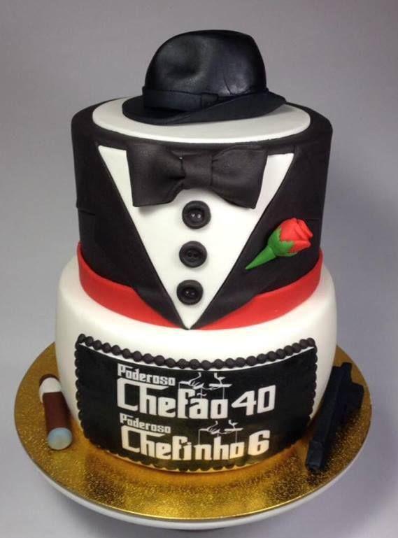 Фото тортов для гангстерской вечеринки