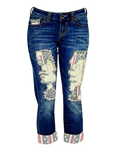 Cowgirl Tuff Womens Pride Boot Cut Jeans