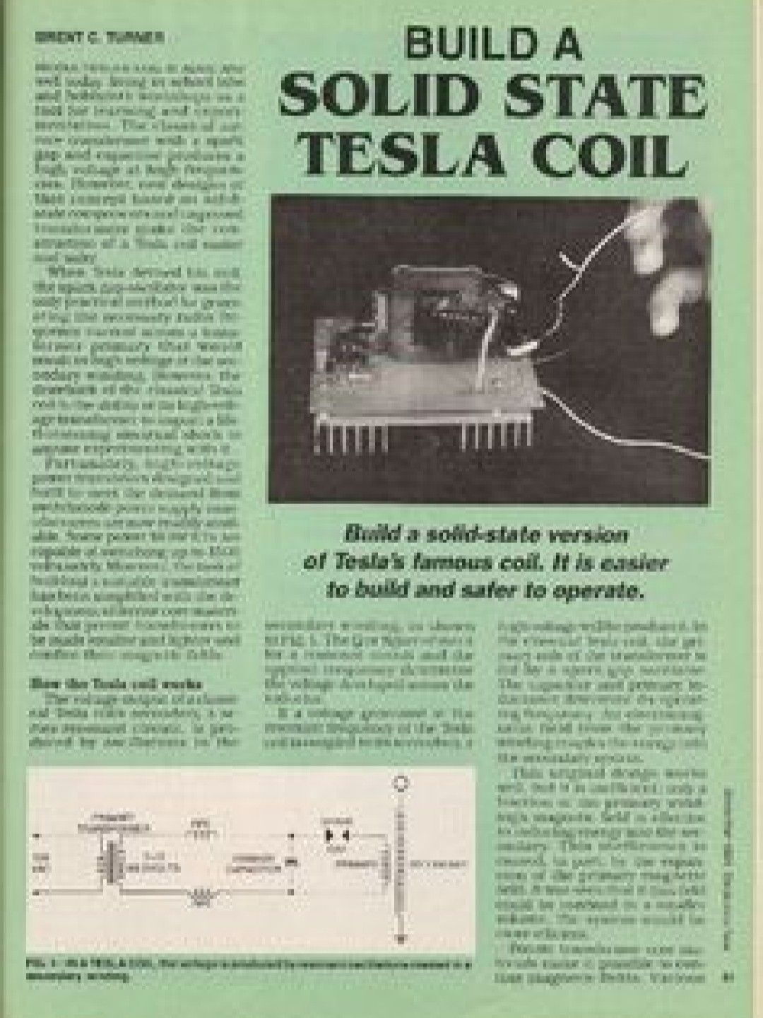 Non Drivable Tesla The Greatest Inventor Never Heard Of By
