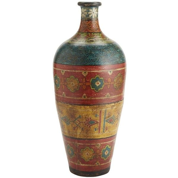 Pier One Indian Carpet Vase 90 Liked On Polyvore Home Decor