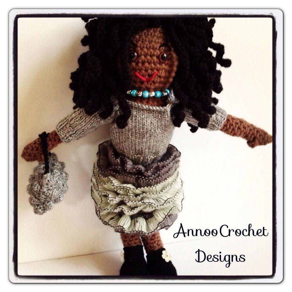 Amanda the Fashionista Crochet Doll