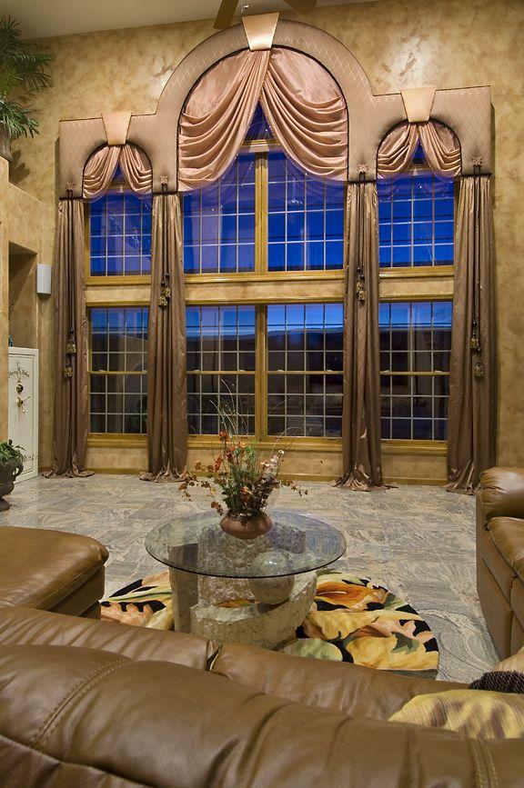 Window Wear Interior Design And Window Treatments Arched Window Treatments Window Treatments Window Styles