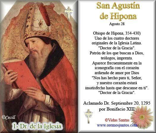 San Agustin De Hipona Frases Buscar Con Google San