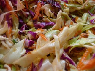 The World Tasters: Simple Texas Chipotle Slaw