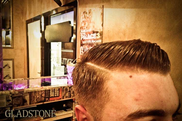 mens slicked back side part gladstone gentleman 39 s grooming classic barbers redefined for the. Black Bedroom Furniture Sets. Home Design Ideas