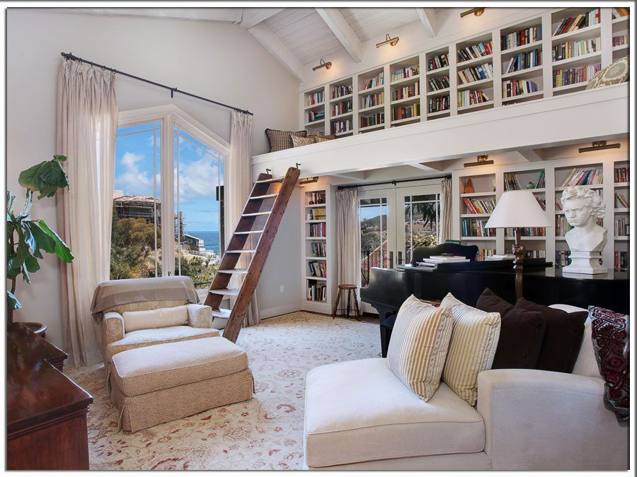 home library design ideas #homelibrary #bookcase #books \u2026 Dreamy