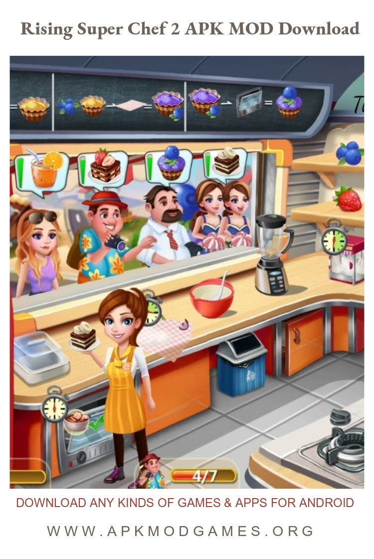 Rising Super Chef 2 Cooking Game APK + MOD (Infinite