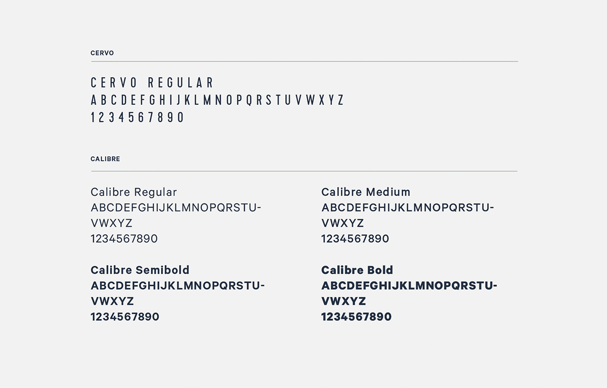 Billedresultat for calibre regular | Typography