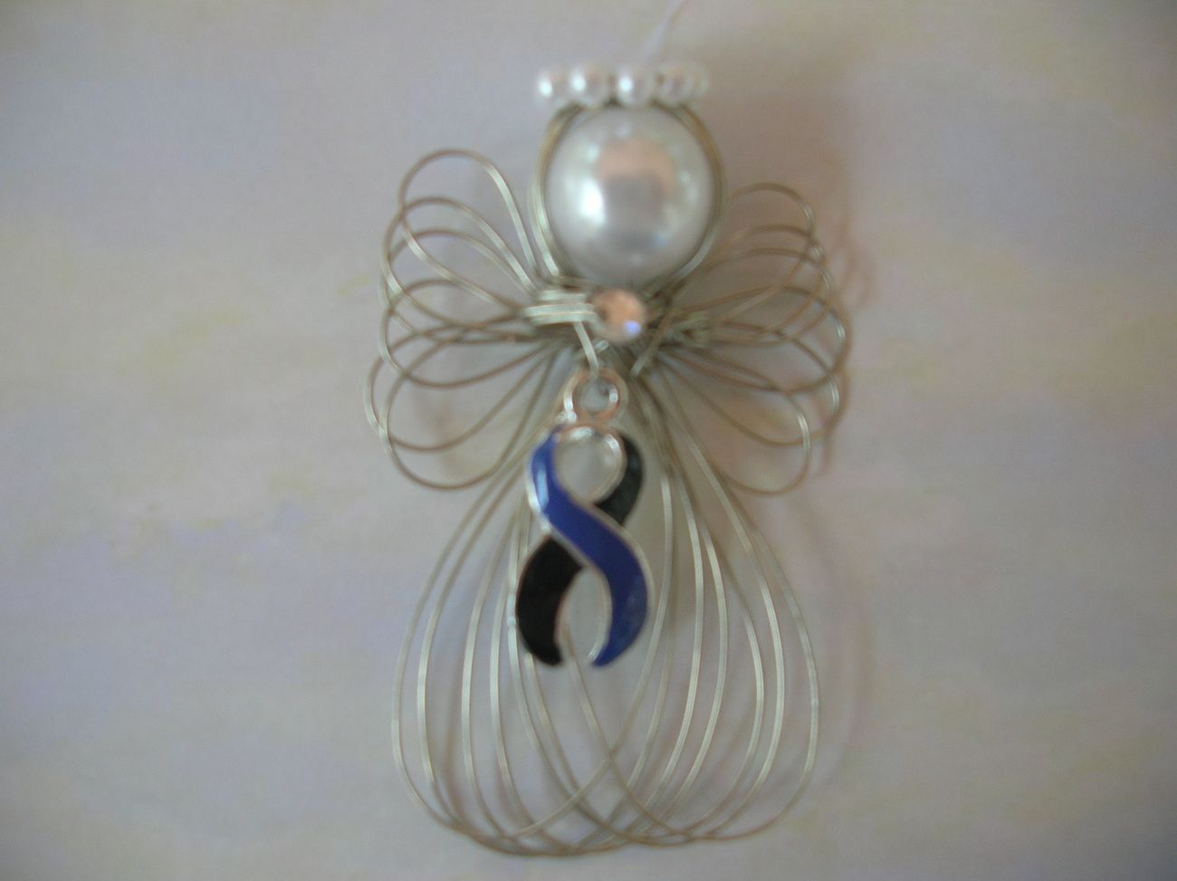 Rememberance Loss Of Brother Or Son Angel Ornament