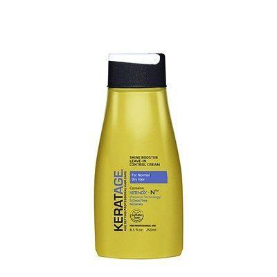 Keratage Shine Booster Leave-In Control Cream 8 Oz
