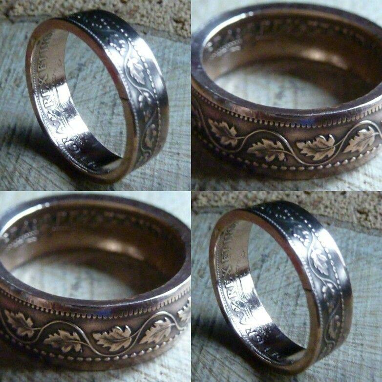 Einzigartige Ringe Aus Canadische Cent Münzen Gibt Es Bei Www