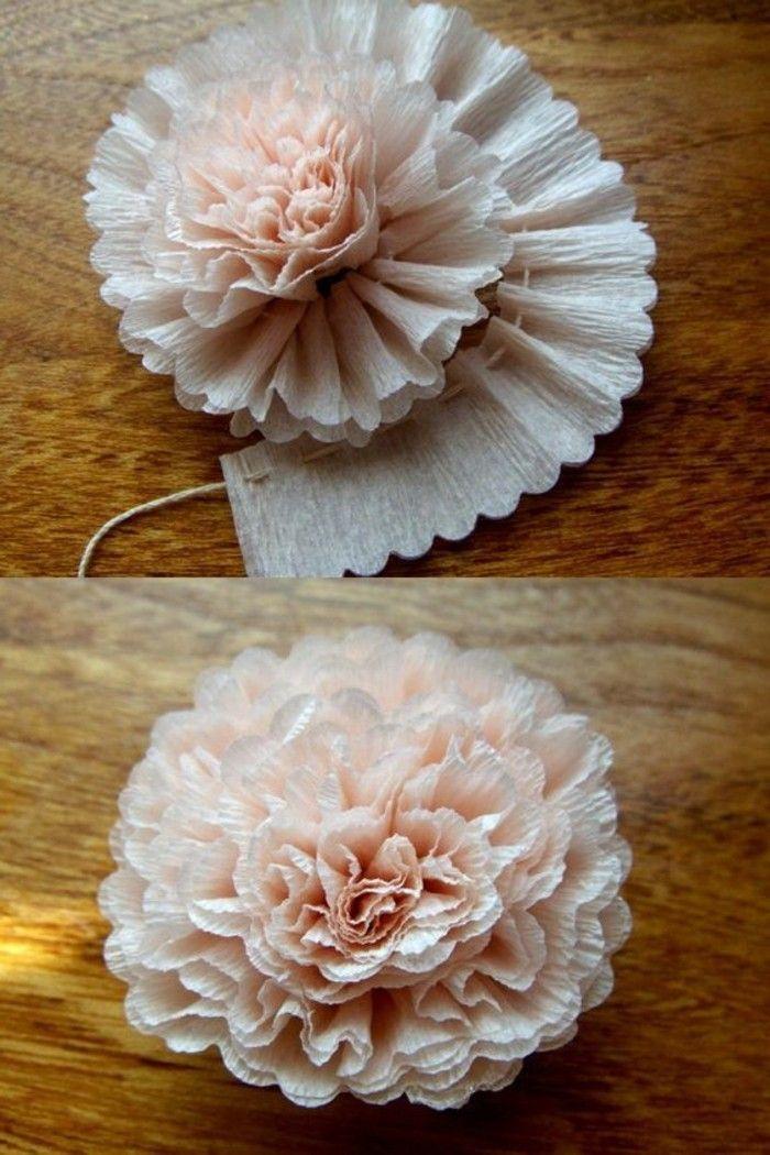 Blumen selber basteln - 55 Ideen für Kinder und Erwachsene, die gern basteln #flowerfabric