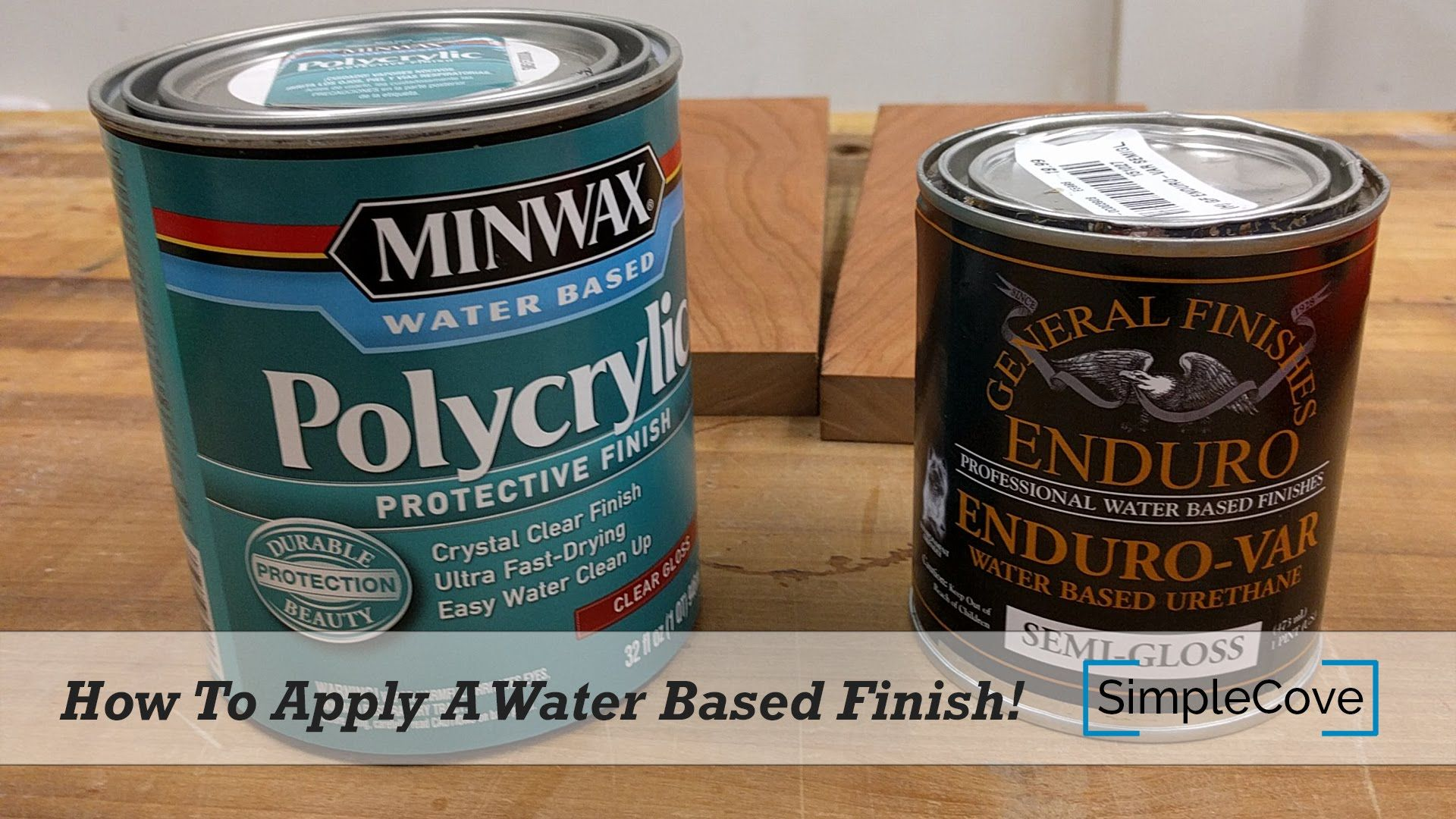 How To Apply Wipe On Polyurethane Youtube