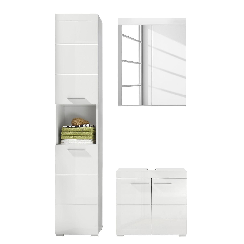 Home24 Badezimmerset Madie Iv 3 Teilig Waschtisch Set Spiegelschrank Waschtischunterschrank