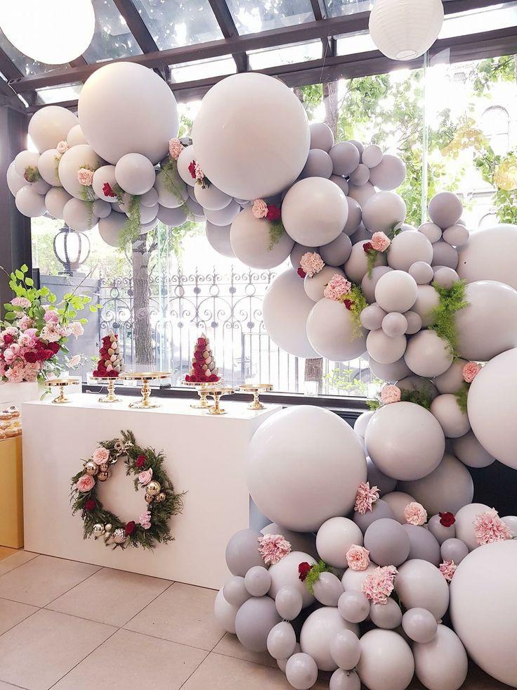 21st birthday ideas Wedding balloons, Wedding balloon