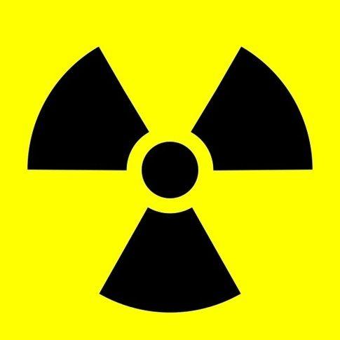 the nuclear hazard sign radioactive trefoil vectors pinterest rh pinterest co uk