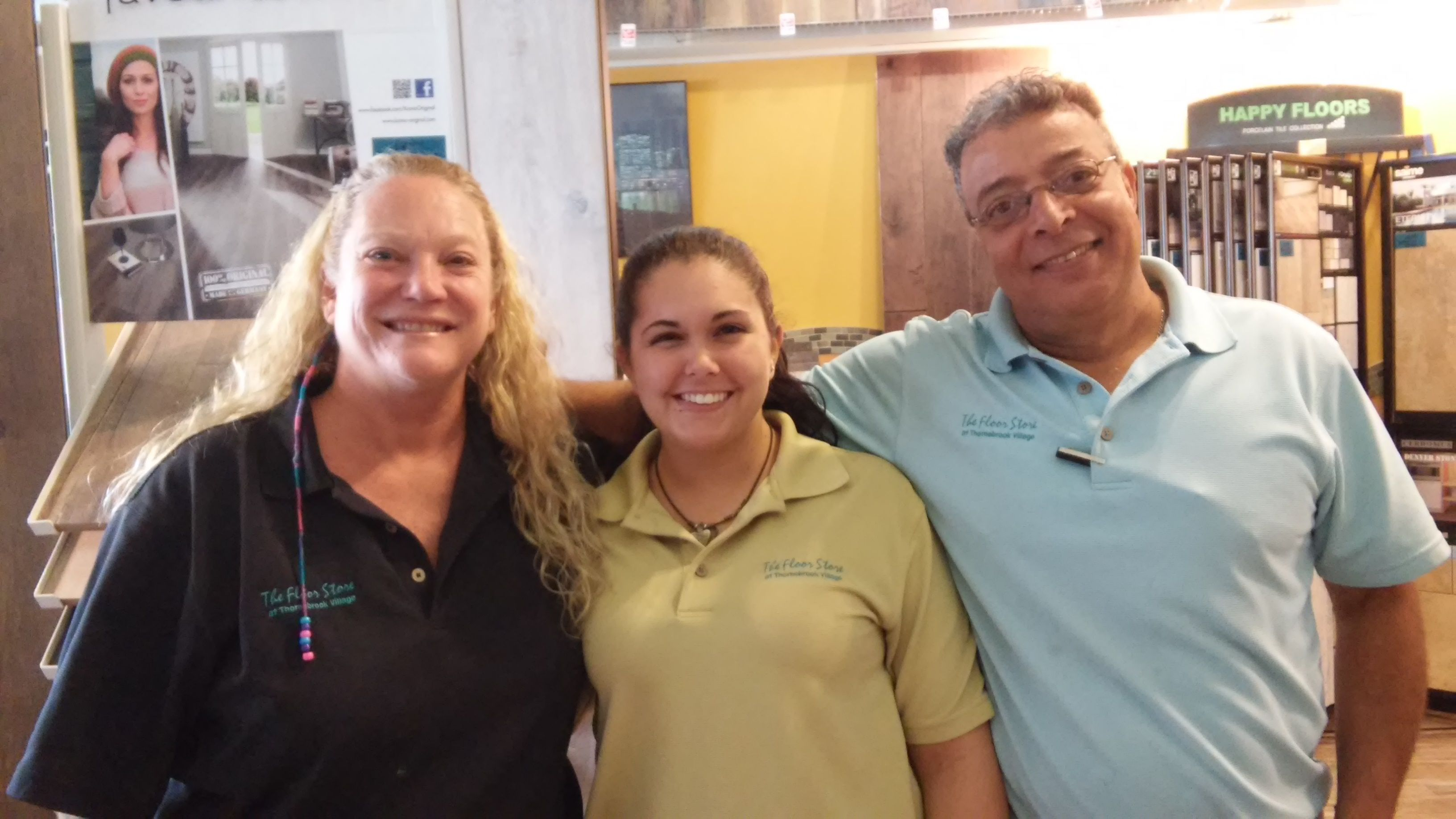 Our Fantastic Staff! Jana, Jannel & Milad