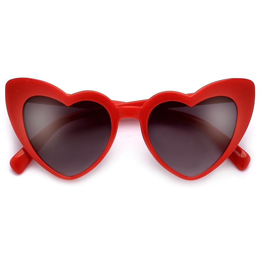 7c2cc1f881 Lovestruck High Tip Cute Heart Sunglasses in 2019