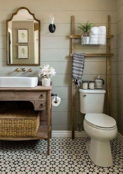 El rústico-chic llega a los baños! | Cuarto de baño | Pinterest ...