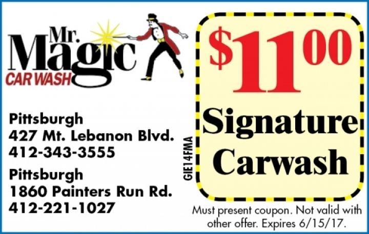 Mr. Magic Car Wash Magic car, Car wash, Car wash coupons