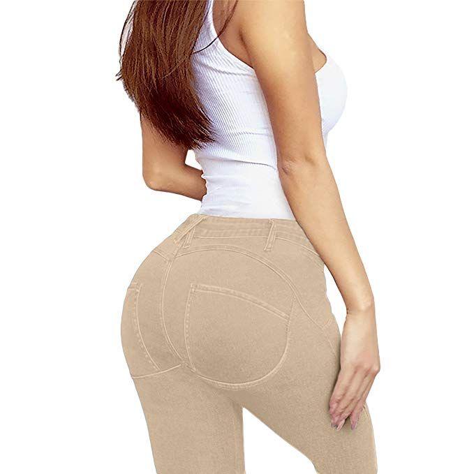 b719ecafa6cd HyBrid   Company Women Butt Lift 3 Button High Waist Stretch Denim Skinny  Jeans  buttliftingjeans  highwaisteddenim  sponsoredbyamazonaffiliate   ...