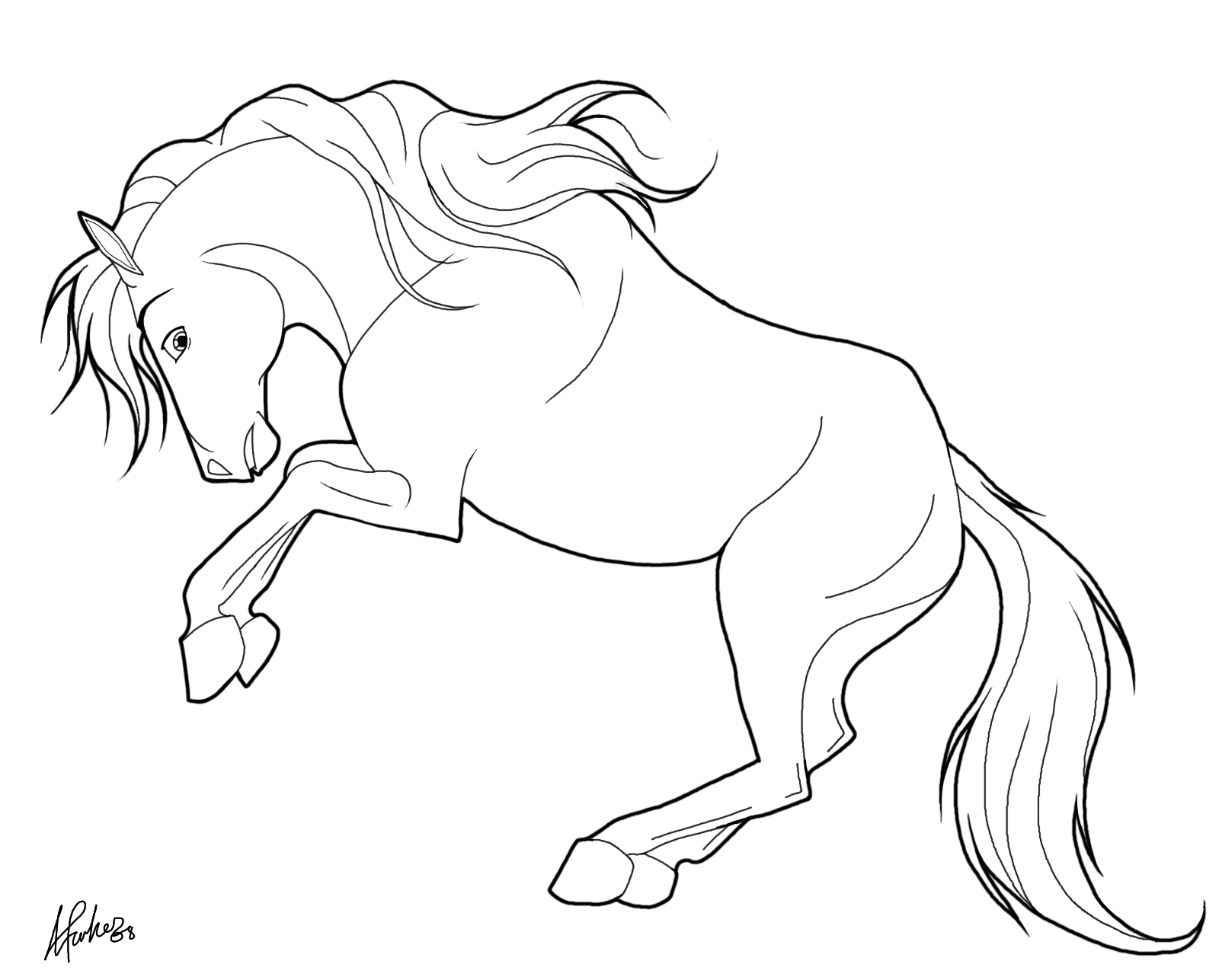 Coloriage Animaux A Colorier Sur L Ordinateur Luxe Galerie Sensationnel En Ligne Dessin De Chevaux A C Horse Coloring Pages Horse Coloring Horse Coloring Books