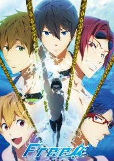 1 x free iwatobi swim club anime fabric wall scroll poster x inches 1 x free iwatobi swim club anime fabric wall scroll poster x inches