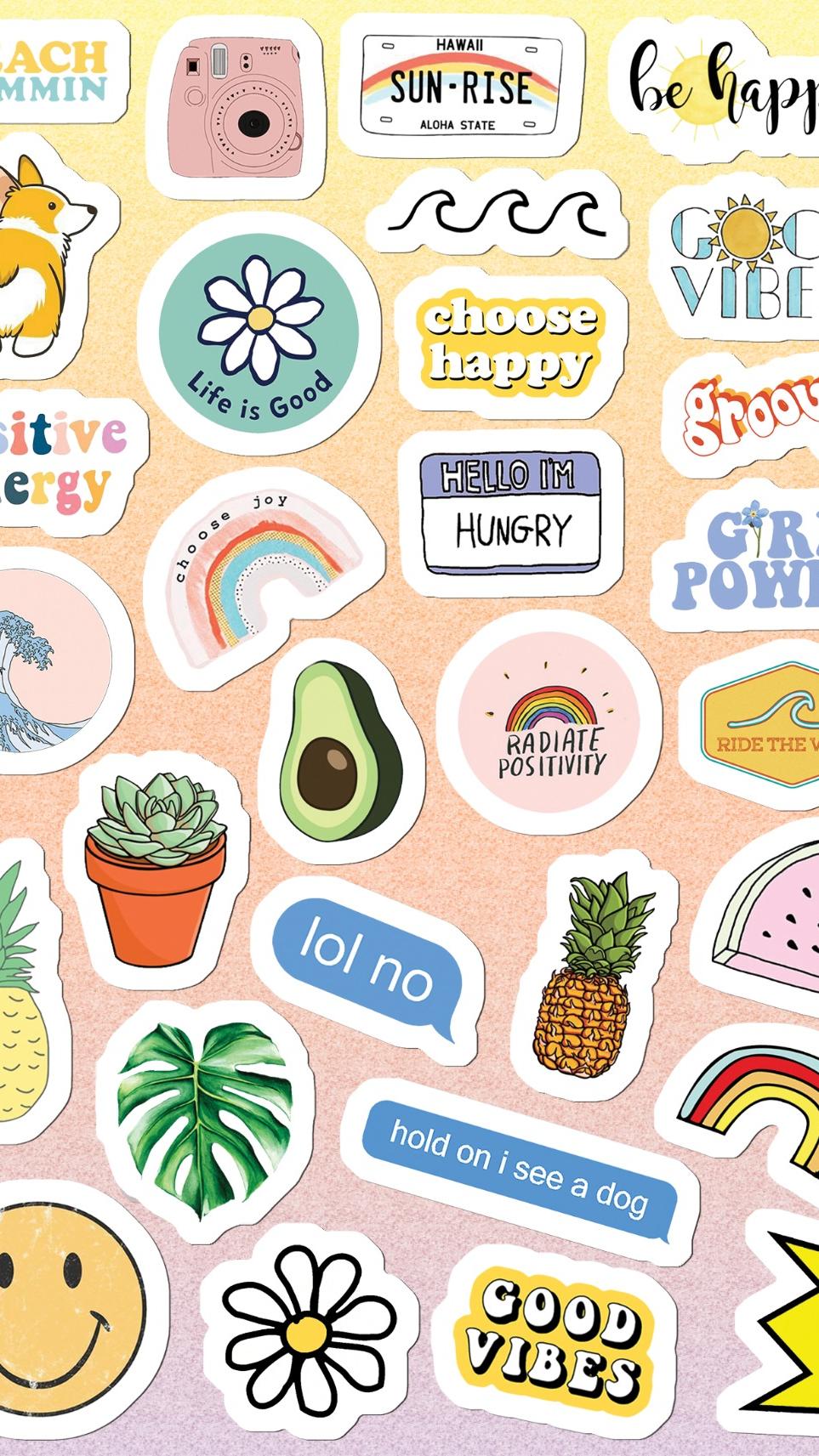 Aesthetic stickers