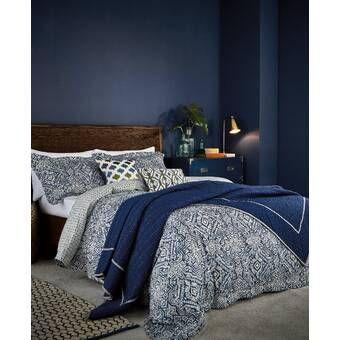 Laylah Reversible Comforter Set Blue Bedroom Comforter Sets Bedroom Decor