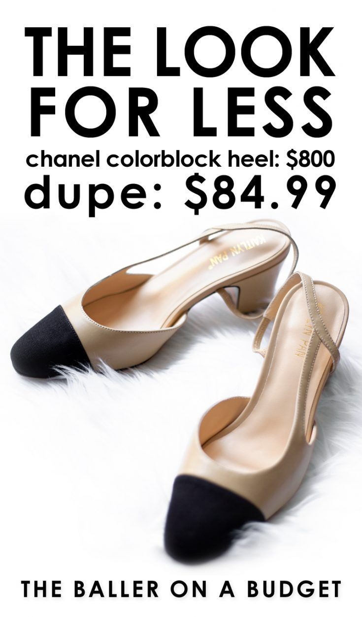 19f41d7f767f6 #sponsored: The $800 Chanel slingback has met its dupe. For $84.99, you can  grab strikingly similar shoes made of genuine lambskin.