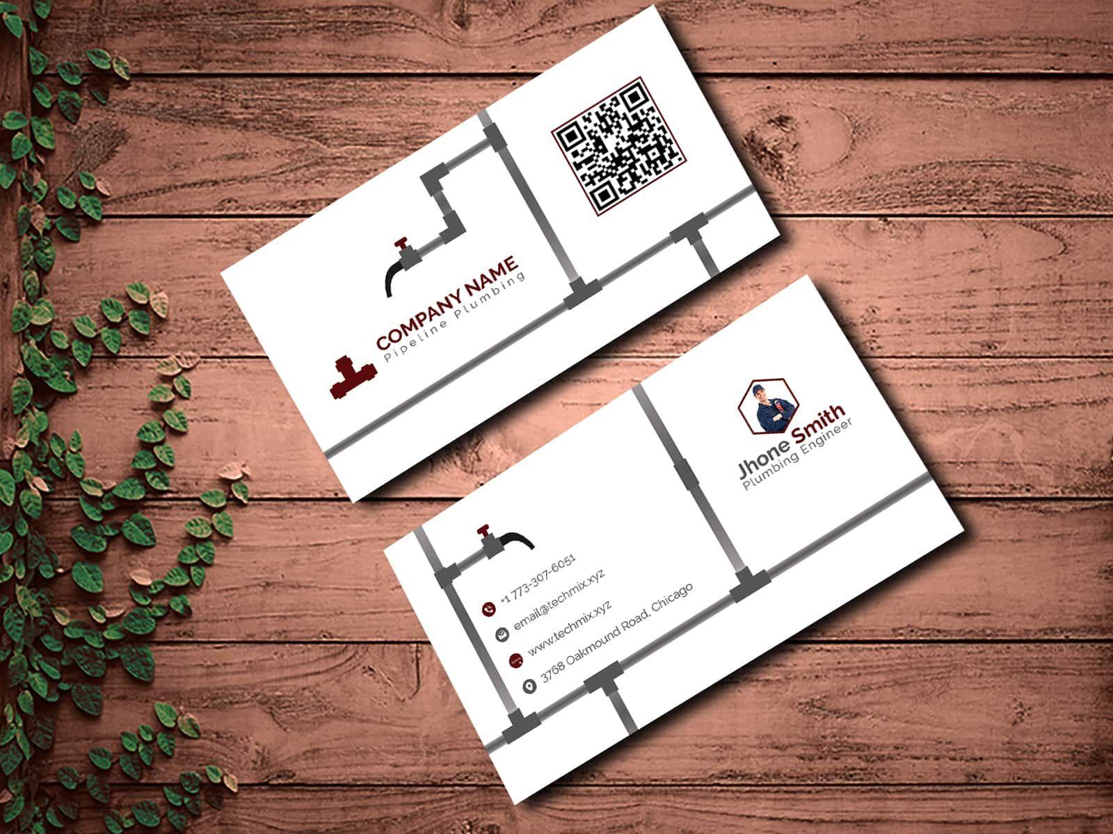 Best Plumber Business Card Template Card Template Business Card Template Business Cards Creative