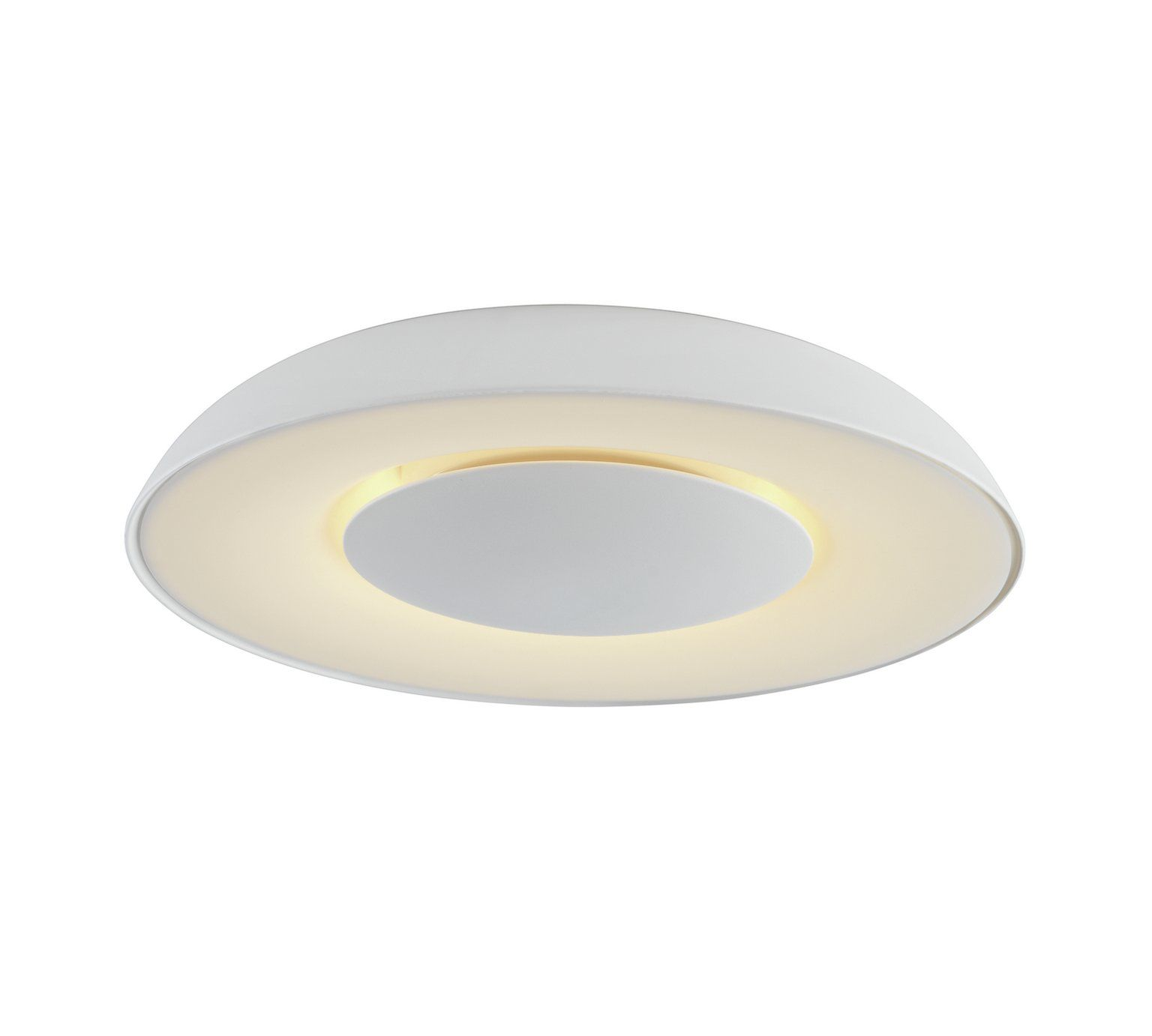 Buy Collection Larne LED Flush Ceiling Light - White at Argos.co.uk ...
